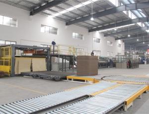 高端瓦楞纸板生产线